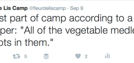 What is the best and worst part of camp?