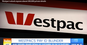 Almost 100,000 Australians' private details exposed in attack on Westpac's PayID