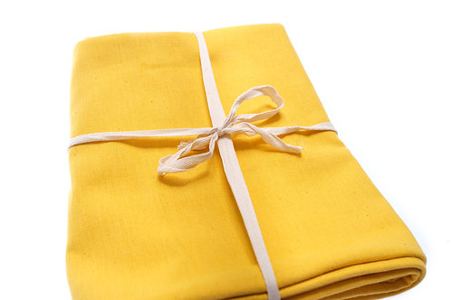 Organic Cotton Floor Blanket - Yellow