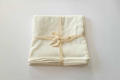 Organic Cotton Floor Blanket - Ivory