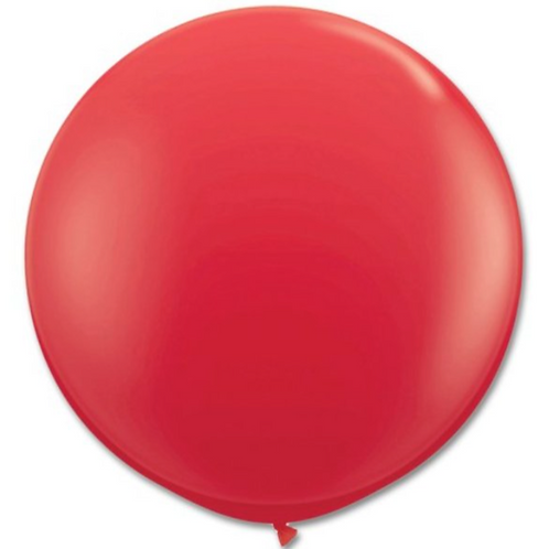 """36"""" Ruby Red Balloon"""