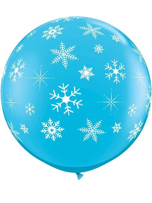 "36"" Winter Snowflake Balloon"