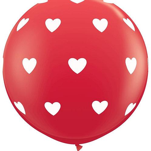 """36"""" Hearts Balloon"""