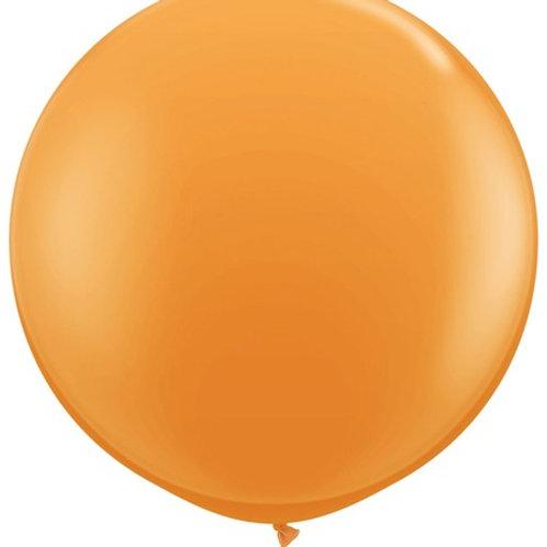 """36"""" Orange Balloon"""
