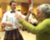 JABADAO SPAGOG  Dance and dementia - Seriously Playful Armchair Games for the Old and Gorgeous. Physical activity in care homes.
