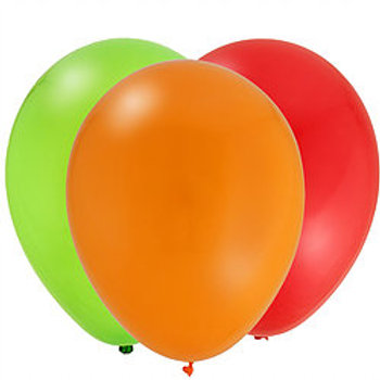 "Six 25"" Teardrop Balloons"