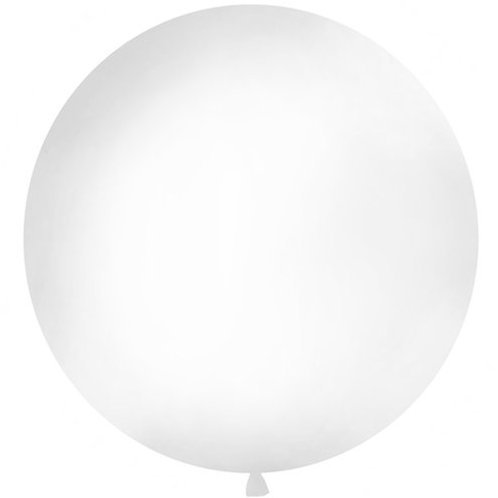 "36"" White Balloon"