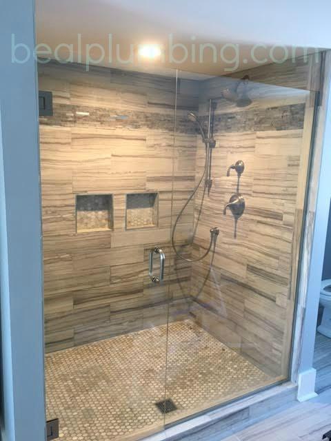 Bathroom remodel: splurge on the shower!