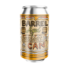 Barrel Aged Dessert in a Can - Chocolate Covered Salted Toffee Popcorn