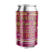 Barrel Aged Dessert in a Can - Cherry & Chocolate Ganche