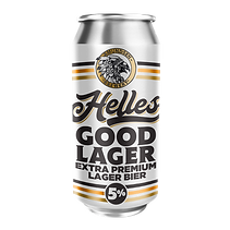 Helles Good Lager - Unfiltered Extra Premium Lager Bier