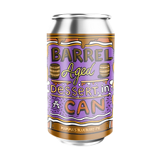 Barrel Aged Dessert in a Can - Mamma's Blueberry Pie