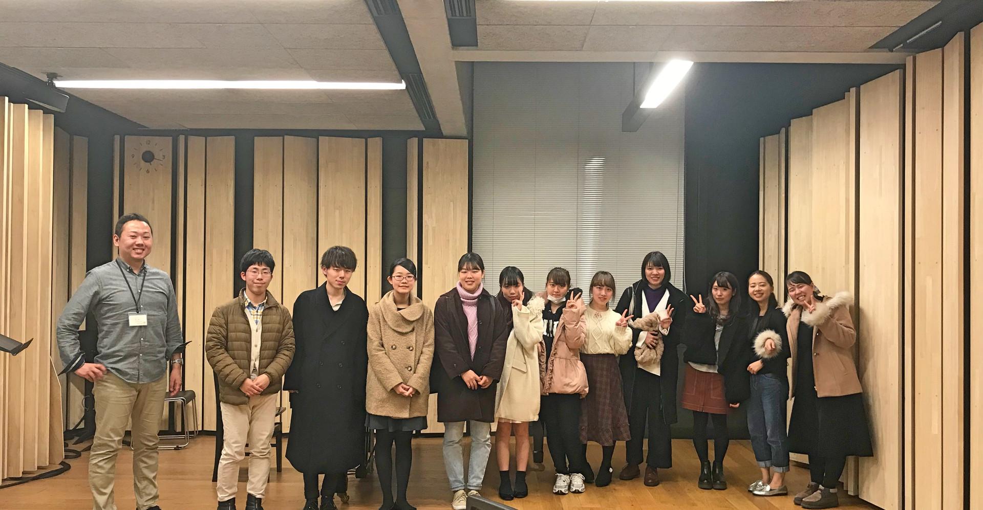 桐朋和声クラスの発表会後に