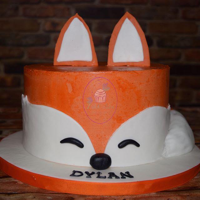 Sweet little fox for a special little bo