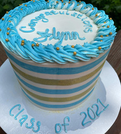 "Graduation Cake 6"" $80"