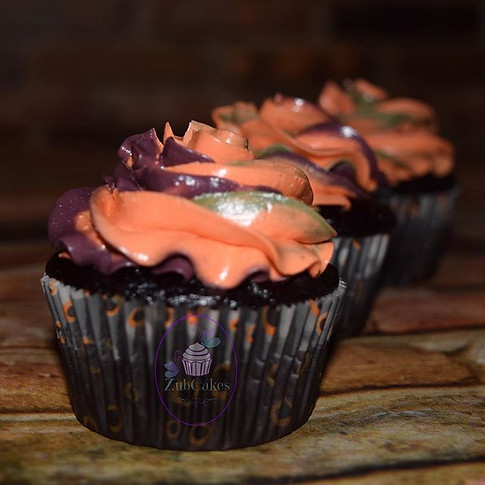 Halloween Inspired Cupcakes