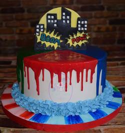 A simply sweet PJ Masks themed cake
