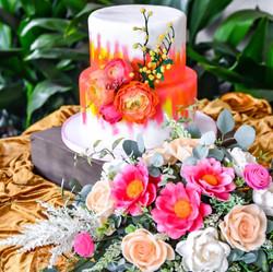 10/8 hand made gumpaste flowers $700