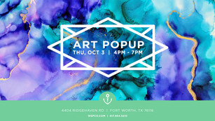The Perry Group Art Pop-Up Facebook Banner