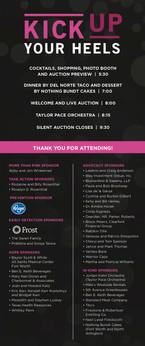 Komen Greater Fort Worth Event Program