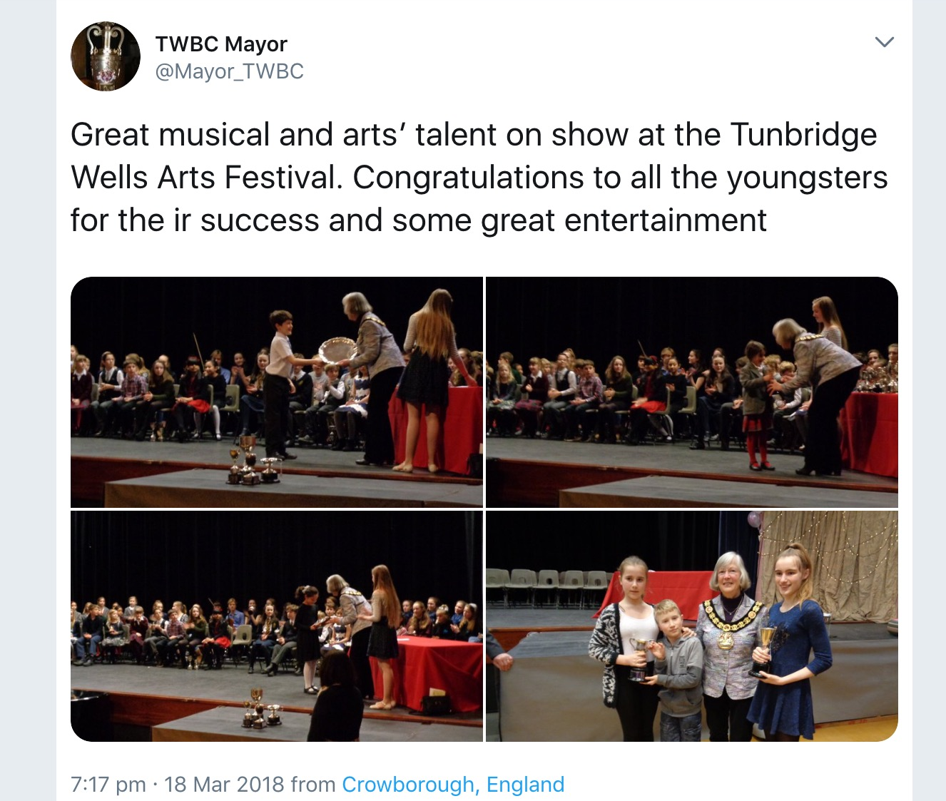 The Mayors twitter