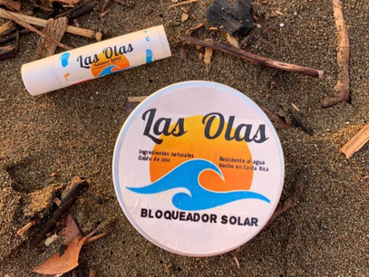 Las Olas Sunblocks are made with love in Platanillo