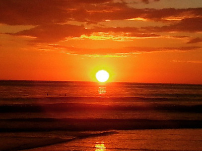 Splendiferous Sunsets in the Gorgeous Southern Zone of Costa Rica
