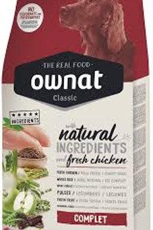 Ownat Dog Chicken & Brown Rice 20kg