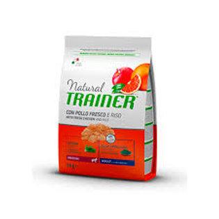 Natural Trainer Medium Pollo Riso & Aloe 3kg