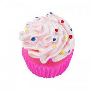 Juguete Perro Goma Cupcake
