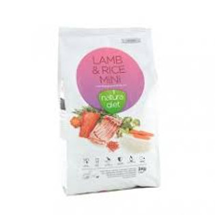 Natura Diet Mini Lamb & Rice 3kg