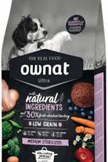Ownat Ultra Dog Sterilized 14kg