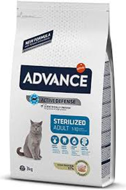Advance Adulto Esterilizado Pavo