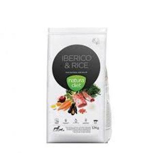 Natura Diet Iberico & Rice 12kg