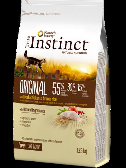 True Instinct Original Chicken & Brown Rice 1.25kg