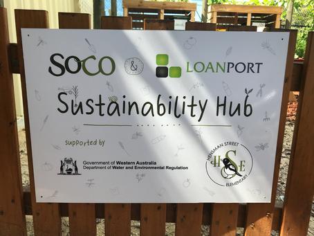 The SOCO & Loanport Sustainability Hub Now Open