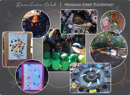 Reconciliation Week at Hensman Street Elementary