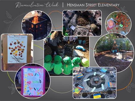 Reconciliation Week at Hensman Street Elementary