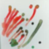 Watercolour Kangaroo Paw Playbased learnng prekindyart