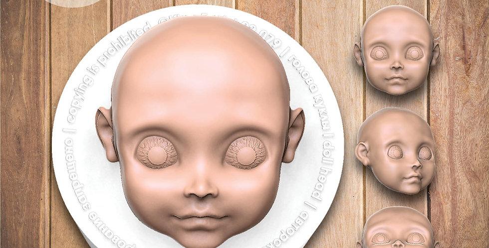 Кукла лицо молд