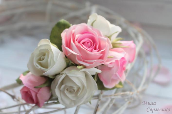 Цветочное украшение