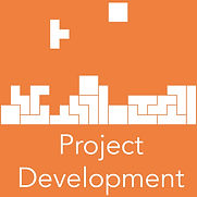 Icon and text for project development