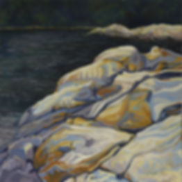 Hidden  Cove - Brickyard Cove - 24_ x 24
