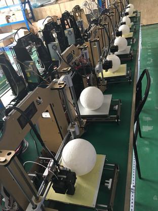 於深圳 3D 打印工場