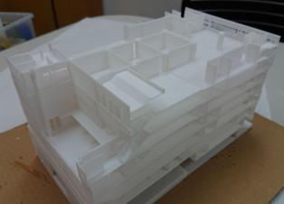 駱駝水壺工廠大廈模型