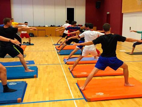 Cours de yoga FCGB