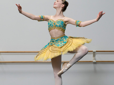 What makes audience etiquette different at a ballet competition?