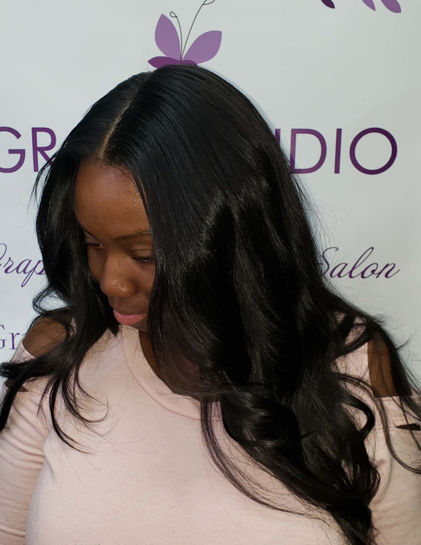 Partial Sew-In + Shampoo