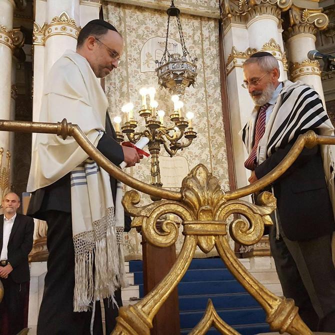 Rome has a new Rabbi: congratulations to Rav Gadi Piperno on his Smichà!