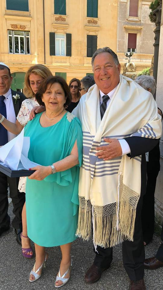 Mazal tov Giuseppe & Edith! 50 years of marriage and still in love and beautiful as on the first
